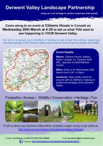 Derwent Valley Consett Event Poster