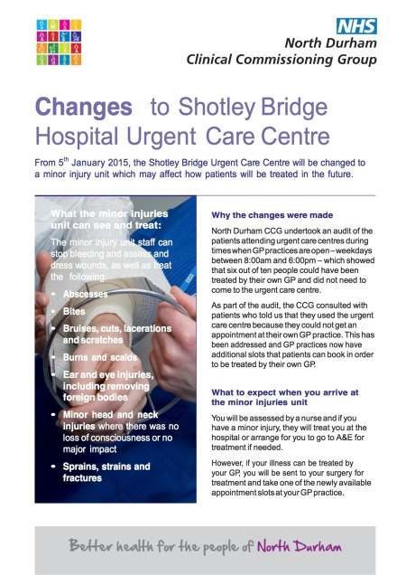 Changes_to_Shotley_Br_Urgent_Care_Ctr_poster_beta