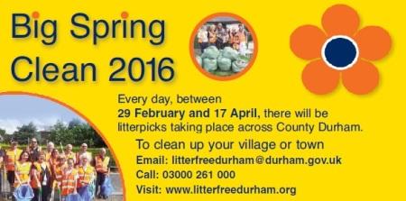 Big Spring Clean 2016