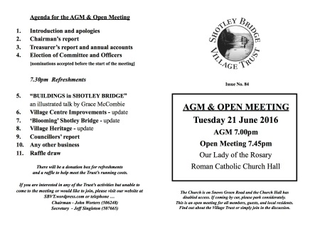Agenda - 21 June 2016
