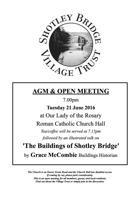 Poster for AGM + open meeting 21 6 16